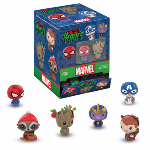Marvel Holiday Pint Size Heroes Funko