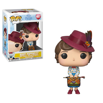 Mary Poppins with Bag Funko Pop
