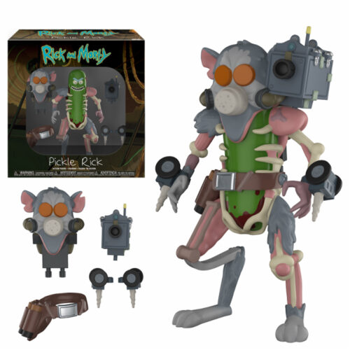 Pickle Rick Funko Action Figure Rick and Morty