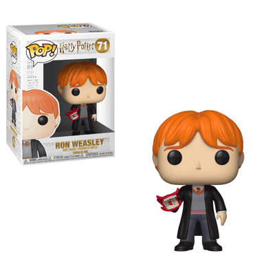 Ron Weasley with howler Funko Pop