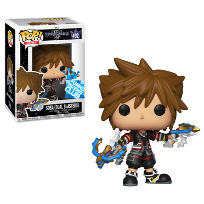 Sora with Dual Blasters Funko Pop
