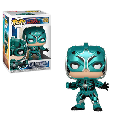 Star Commander Funko Pop Captain Marvel