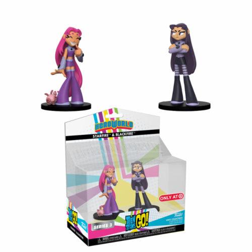 Starfire & Blackfire Teen Titans Go! Funko HeroWorld 2-pack