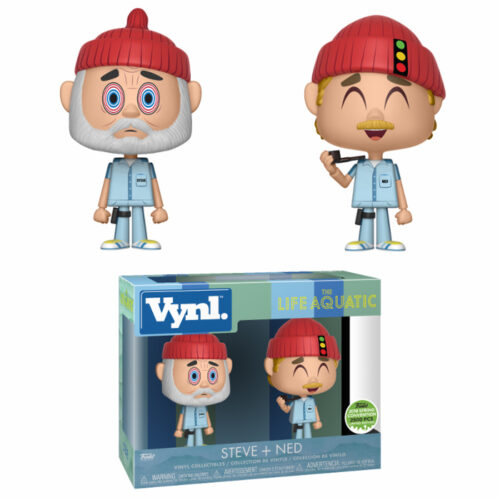 Steve & Ned Funko Vynl 2-pack The Life Aquatic With Steve Zissou