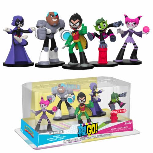 Teen Titans Go Funko HeroWorld 5 pack