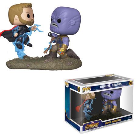Thor vs Thanos Funko Pop Movie Moment