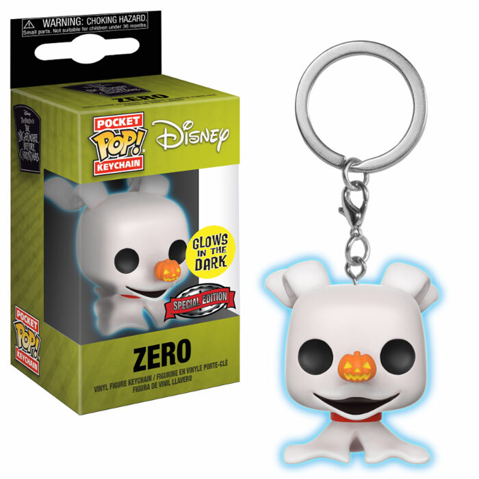 Zero GITD Pocket Pop Keychain NBX