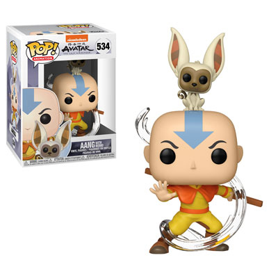 Aang with Momo Funko Pop