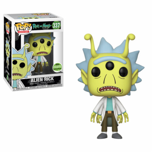 Alien Rick ECCC Funko Pop