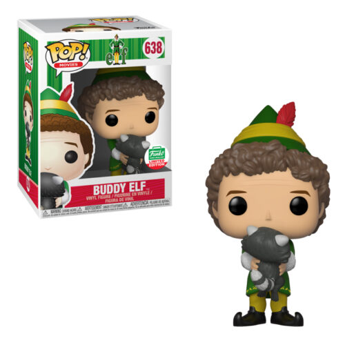BUDDY THE ELF WITH RACCOON Funko Pop