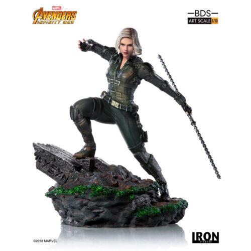 Black Widow 1 10 Statue Iron Studios Marvel Avengers Infinity War