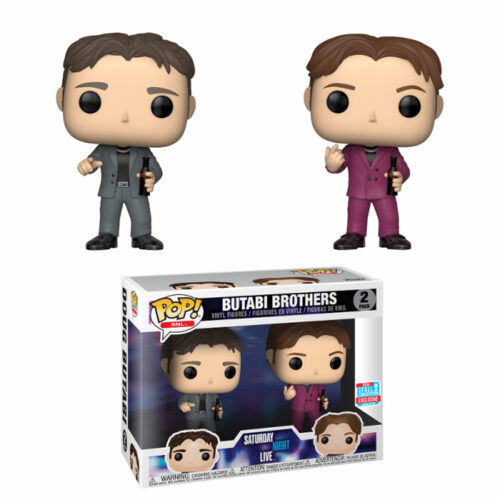 Butabi Brothers NYCC Funko Pop 2-Pack