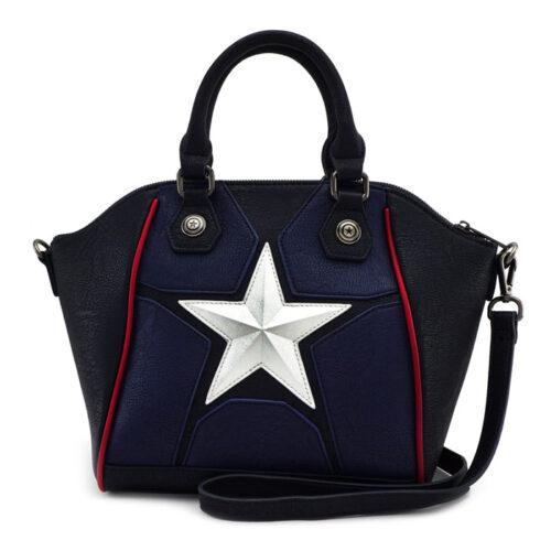 Captain America Marvel Crossbody Bag Lougefly Funko