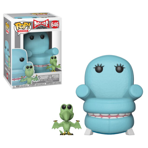 Chairry and Pterri Funko Pop Pee-Wee