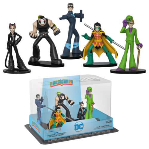 DC Group 1 HeroWorld 5-pack Funko