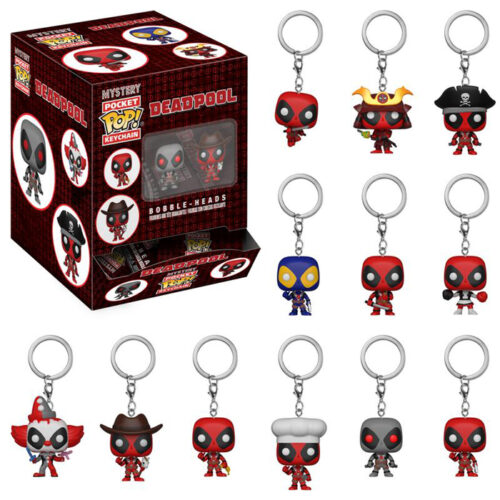 Deadpool Mystery Pocket Pop Keychain Funko