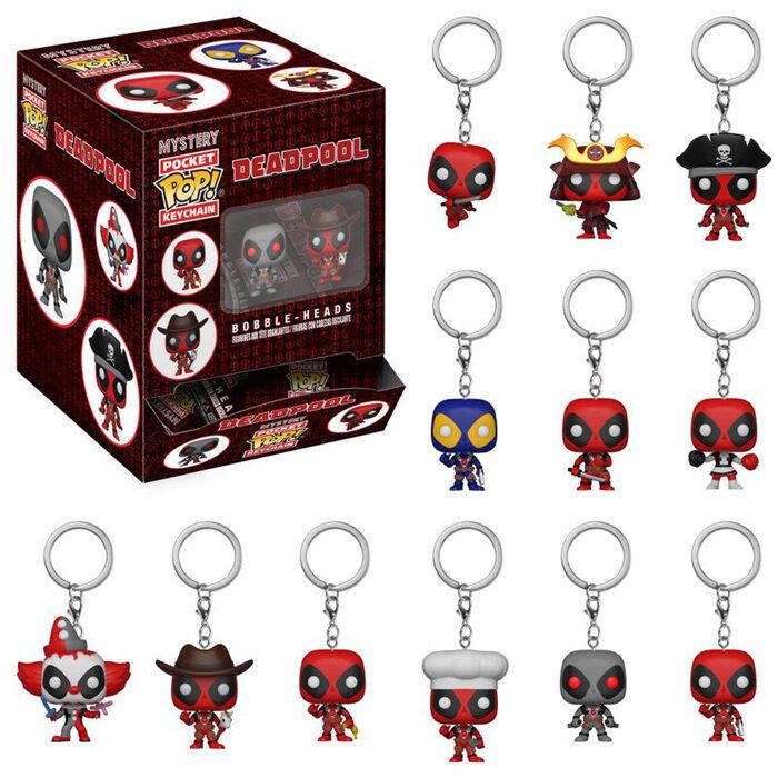 Deadpool Mystery Pocket Pop Keychain Funko