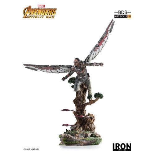 Falcon 1 10 Statue Iron Studios Marvel Avengers Infinity War