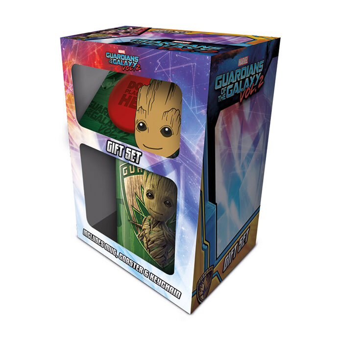 Groot Marvel Gift Set
