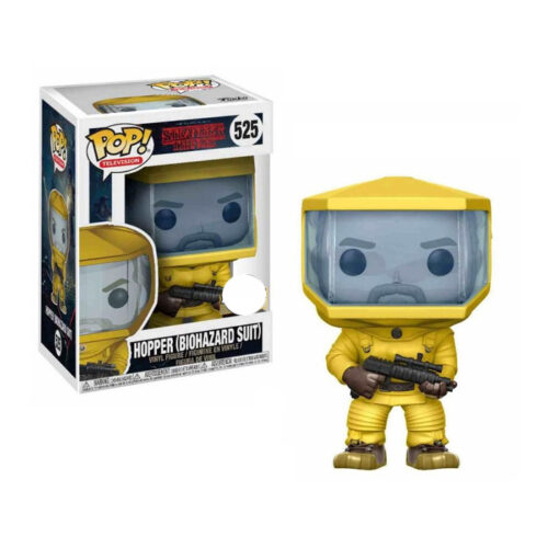 Hopper Biohazard Suit Funko Pop Stranger Things