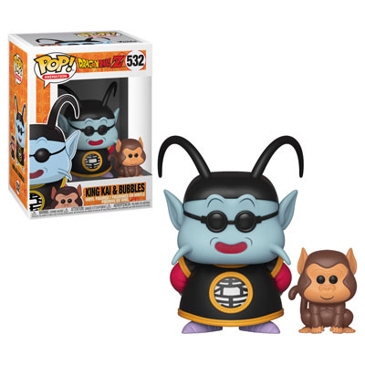 King Kai and Bubbles Funko Pop Dragonball Z