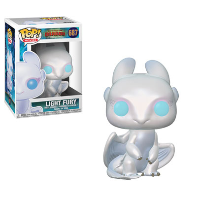 Light Fury Funko Pop How To Train Your Dragon