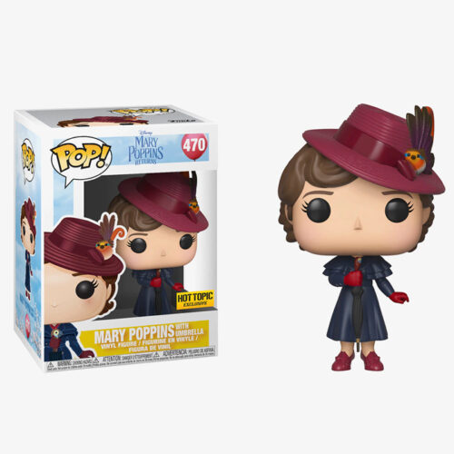 Mary Poppins With Umbrella Funko Pop