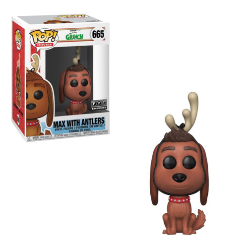 Max with Antlers Funko Pop