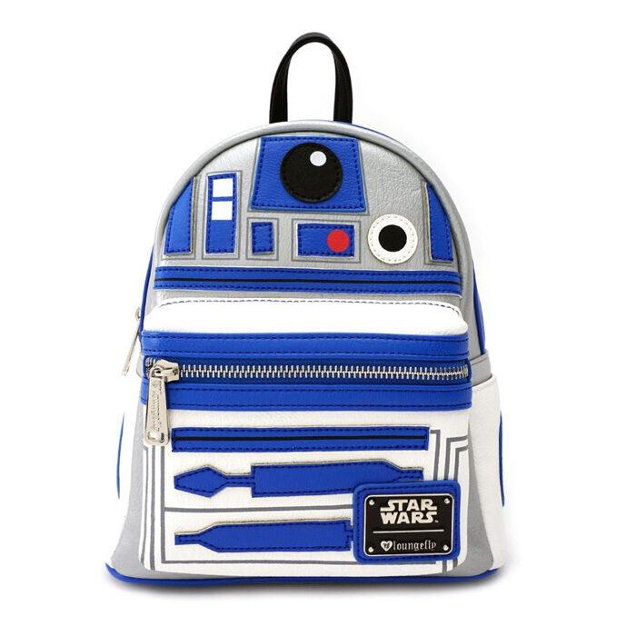 R2-D2 Star Wars Mini Backpack Loungefly Funko