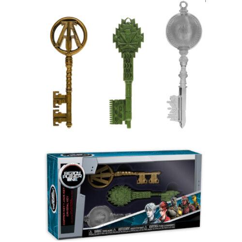 Ready Player One Keys Jade Crystal Copper Set