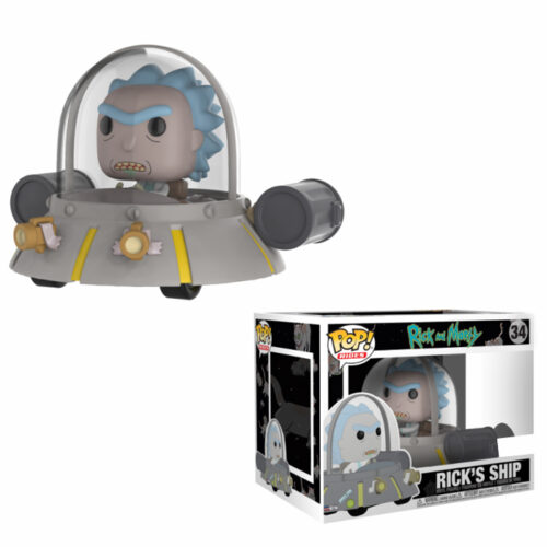 Rick's Ship Funko Pop