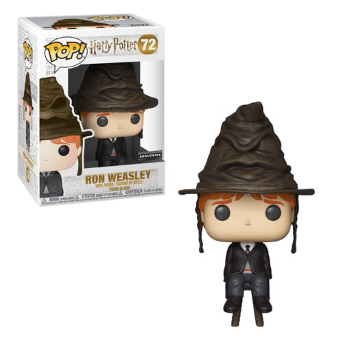 Ron Weasley With Sorting Hat Funko Pop