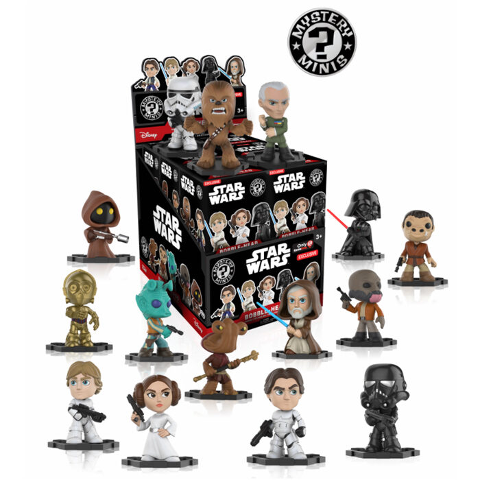 Star Wars Exclusive Mystery Minis