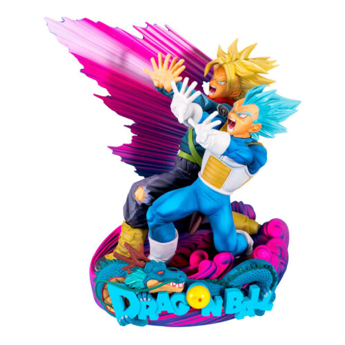 Vegeta and Trunks Figure The Brush 2 Master Stars 2