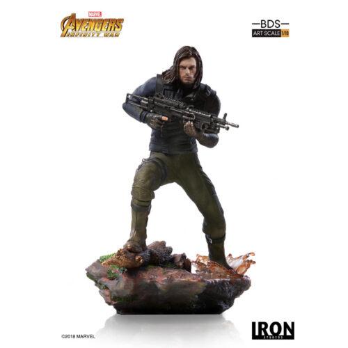 Winter Soldier 1 10 Iron Studios Statue Marvel Avengers Infinity War