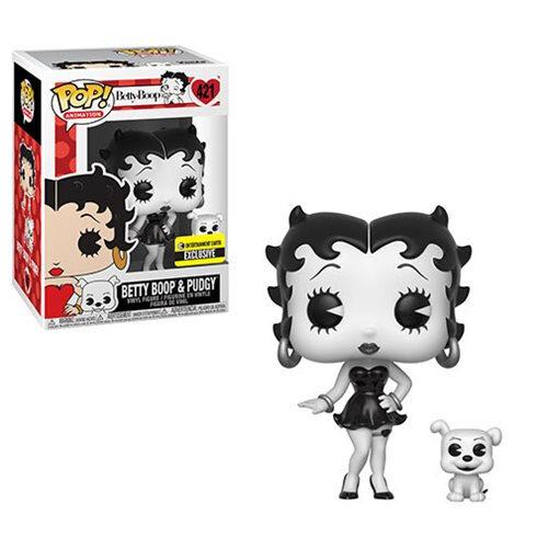 Betty Boop Black-and-White Funko Pop