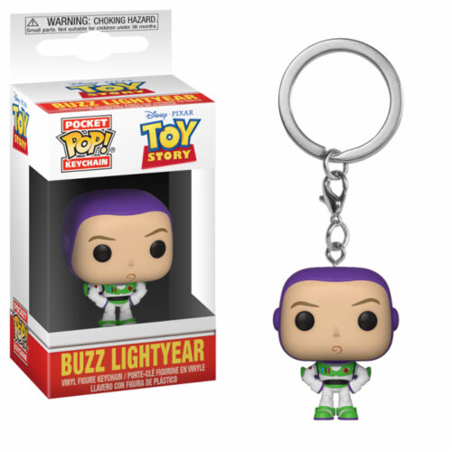 Buzz Lightyear Funko Pocket Pop! Keychain Toy Story