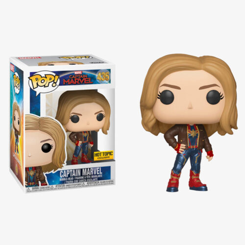 CAPTAIN MARVEL (WITH JACKET) Funko Pop