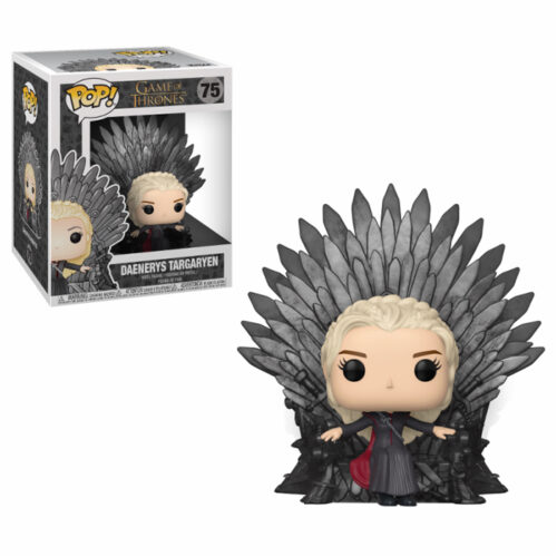 Daenerys Sitting on Throne Funko Pop deluxe