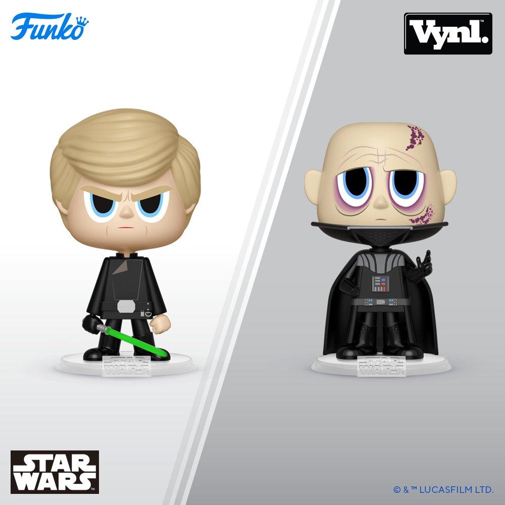 Luke en Darth vader