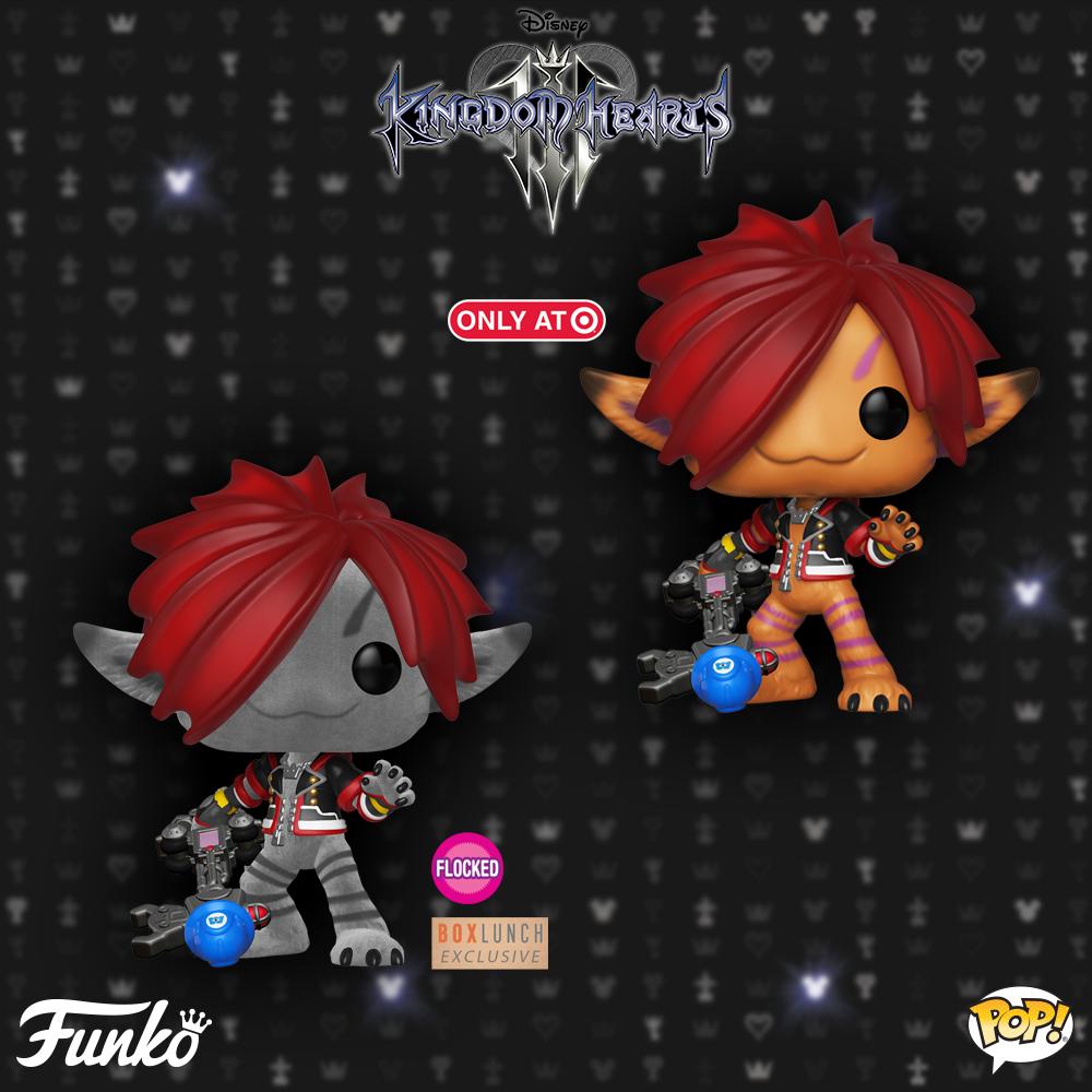 Monster Sora Kingdom Hearts