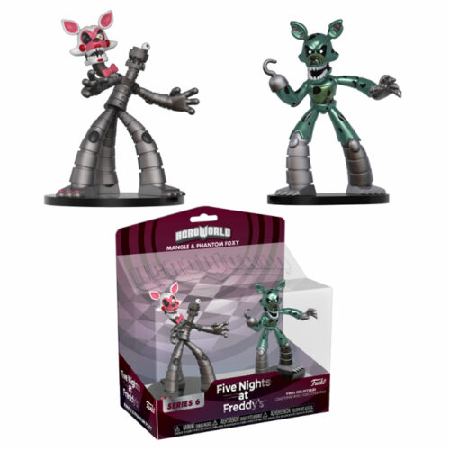 Mangle and Phantom Foxy HeroWorld Funko