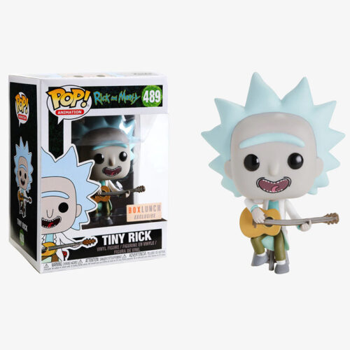 Tiny Rick Funko Pop