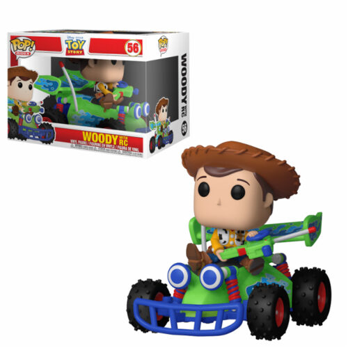 Woody with RC Funko Pop Ride Toy Story