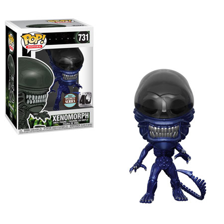 Xenomorph Blue Metallic Funko Pop