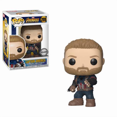 Captain America with Shield Funko Pop