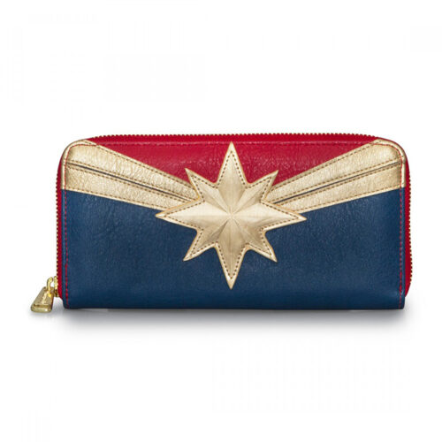 Captain Marvel Wallet Loungefly