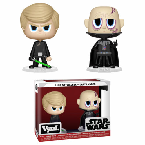 Darth Vader & Luke Skywalker (ROTJ) Vynl 2-pack