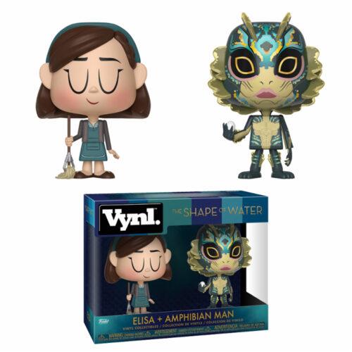 Elisa and Amphibian Man Funko Vynl. 2-pack