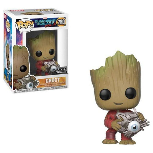 Groot with Cyber Eye Funko Pop